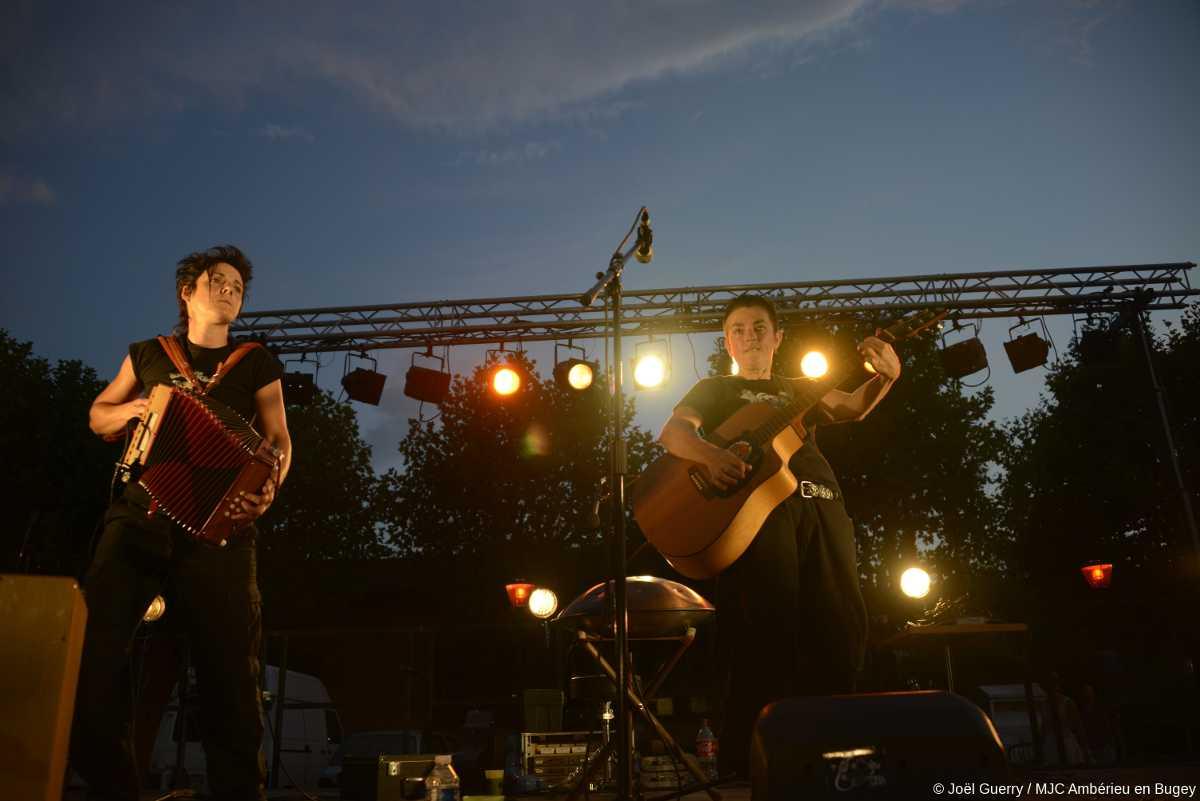 Les Fées minées concert Ambérieu 2015