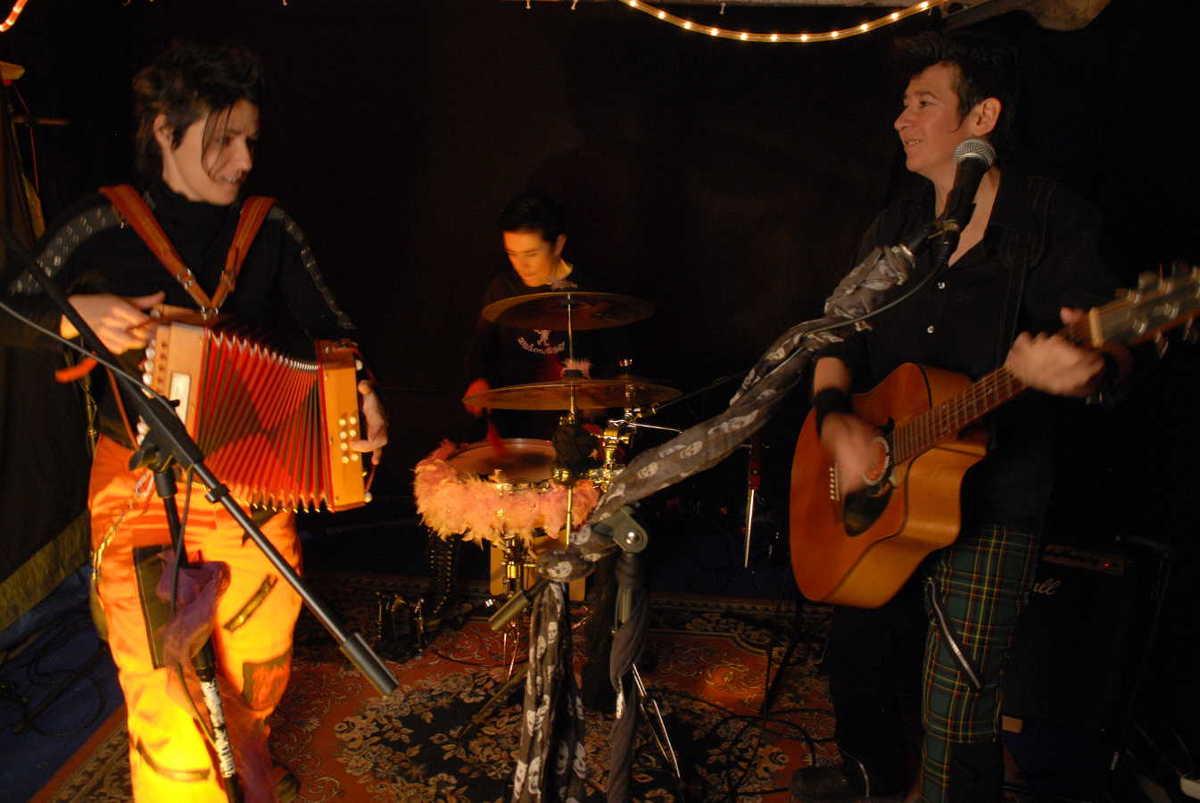 Les fées minées concert Belgique - Photo Cat VD