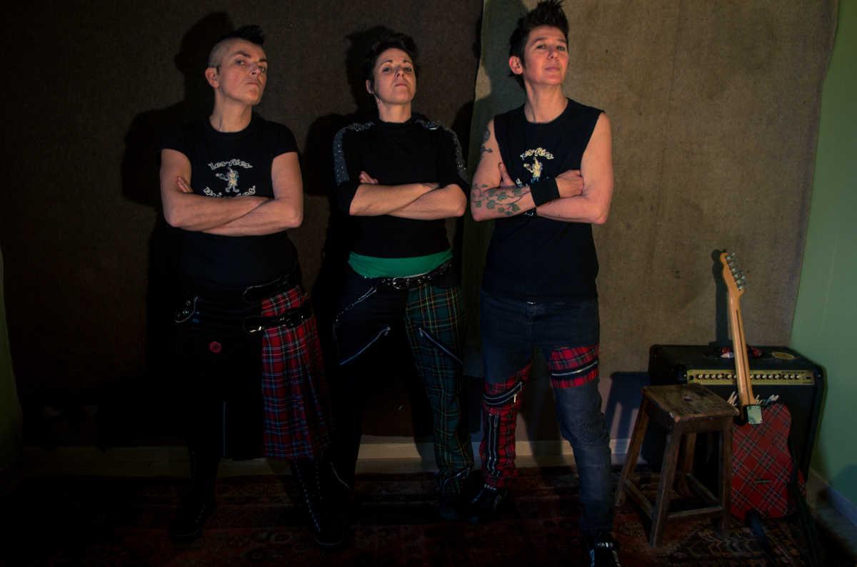 Les fées minées trio queer Folk'n'roll
