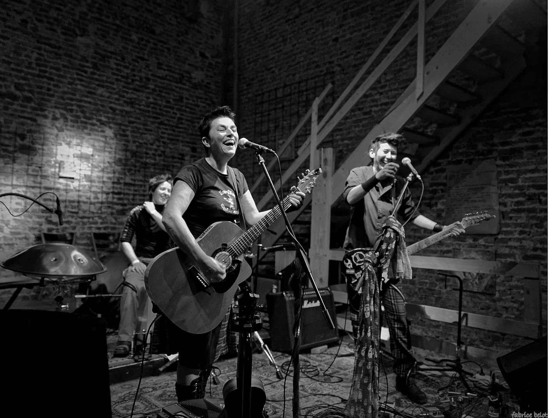 Les fées minées tournée Belgique 2016 Mesnil L'Eglise