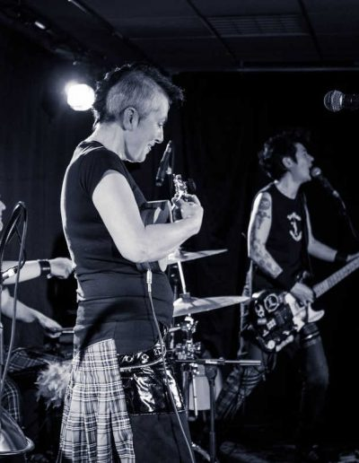 Les  Fées minées Trio Folk'n'roll- Photo zerf
