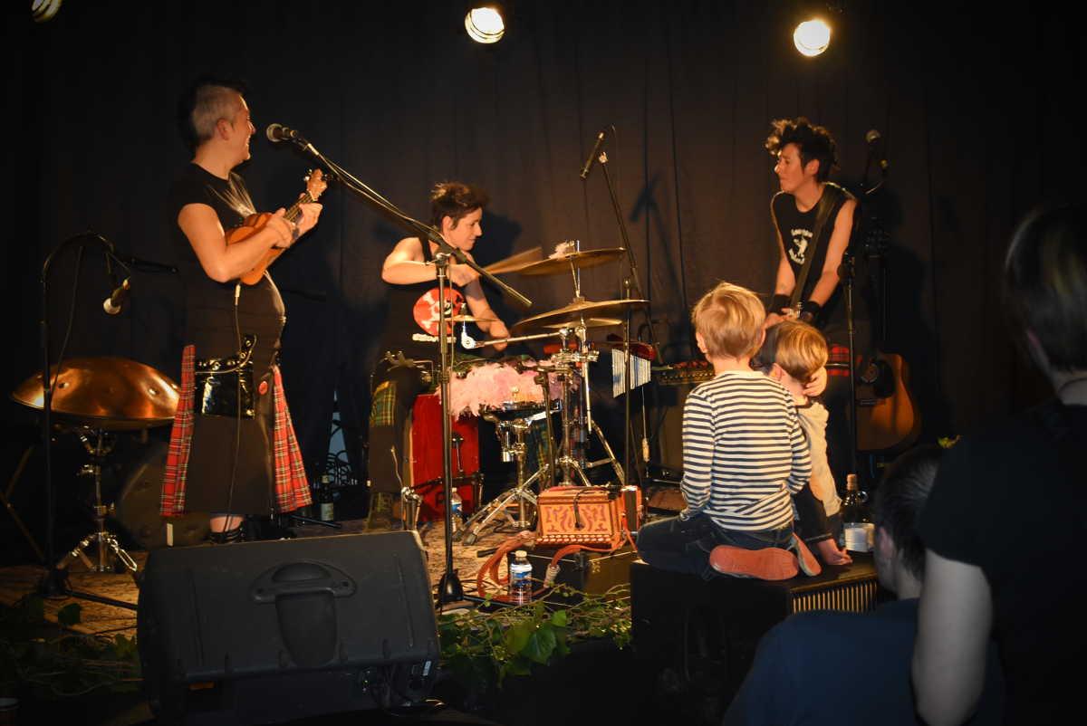 Les fées Minées concert folk'n'roll sortie album Souffles d'invisibles