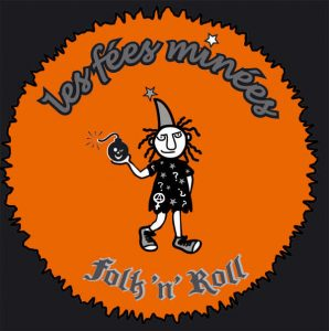 logo les fees minees folk and roll