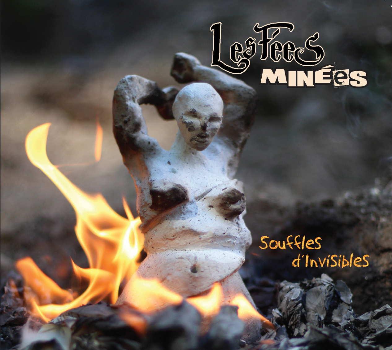 pochette dernier album les fees minees souffles d'invisibles